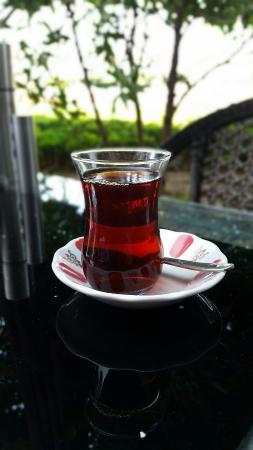 Istanbul Flower Restaurant: Tasty tea