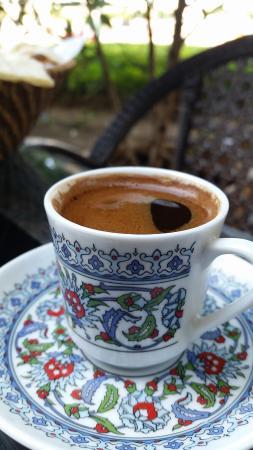 Istanbul Flower Restaurant: aromatic turkish coffee