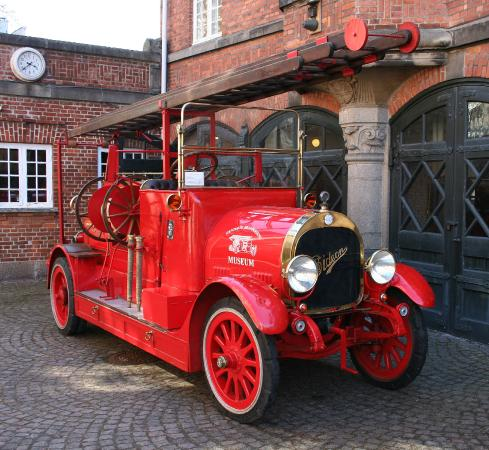 Hellerup, Danmark: Gentofte BrandMuseum - Gideon 1919
