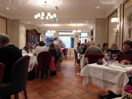 Le Vauban : salle du restaurant
