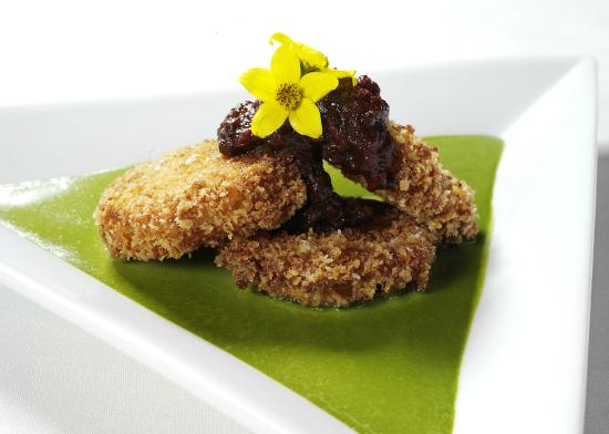 Chaz on the Plaza : Chaz Signature Fried Green Tomatoes