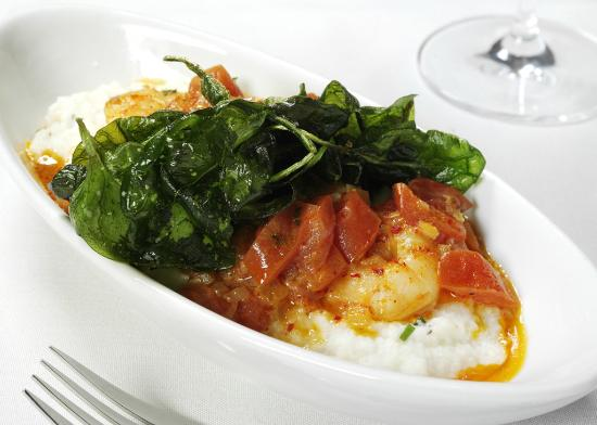 Chaz on the Plaza : Chaz Shrimp and Grits