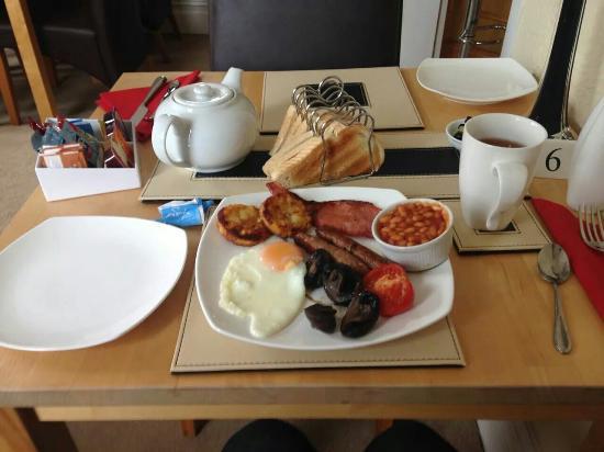 Glen Guest House : Breakfast for one