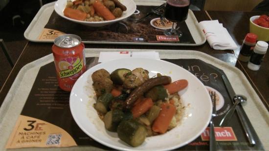 Flunch Paris Beaubourg : Tasteless couscous