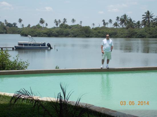 Isla Tajin Beach & River Resort: Vista de Laguna