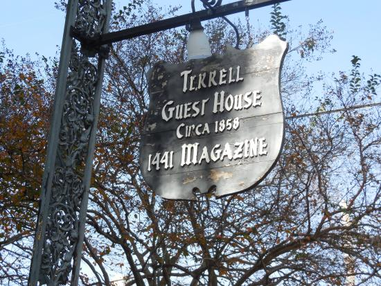 Terrell House Bed and Breakfast : Historic B&B