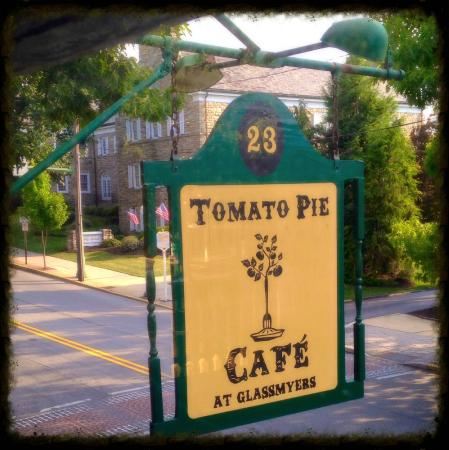 ‪‪Tomato Pie Cafe‬: Look for our sign!‬