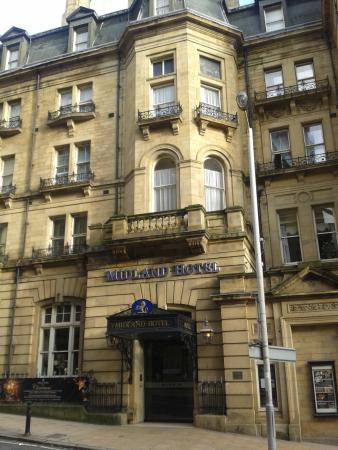 Midland Hotel : Front of hotel