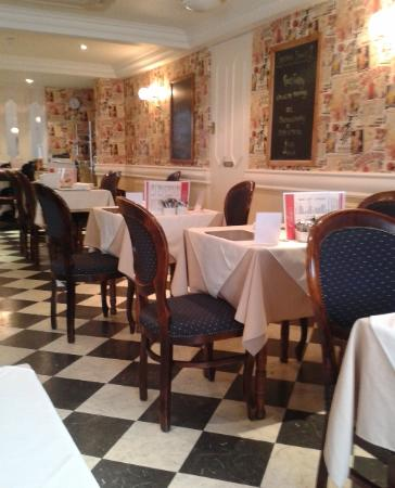 Upstairs at Clares Restaurant: Clare's Cafe