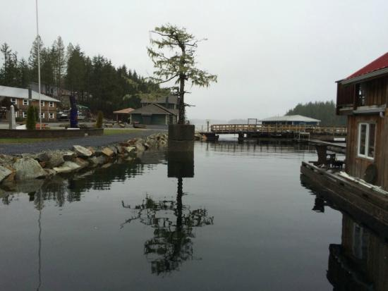 Shearwater Resort & Marina: Late Fall - High Tide in Shearwater