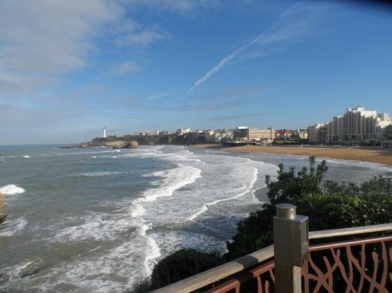 Mercure Biarritz Centre Plaza : Grand Plage desde la Zona de San Eugenio
