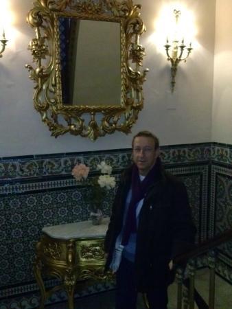 Hotel Europa: escalera