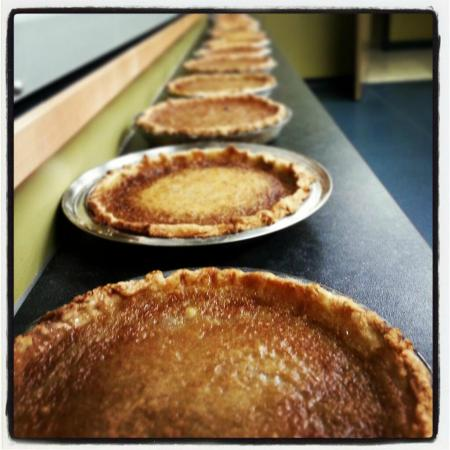 Prince Edward County, Canada : Butter Tart Pie from The Spot Restaurant