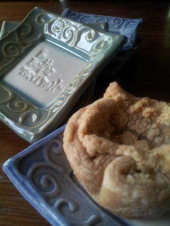 Prince Edward County, Canada: Dessert Plate from Night & Day Studio with Kenilworth Country Kitchen Butter Tart