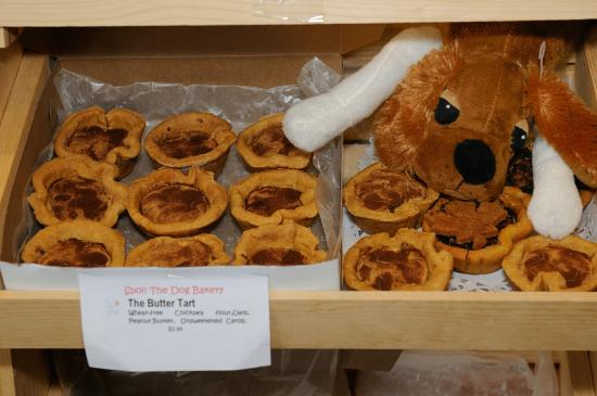 The Butter Tart Trail: Doggy Butter Tart Treats at Spoil Me Pets