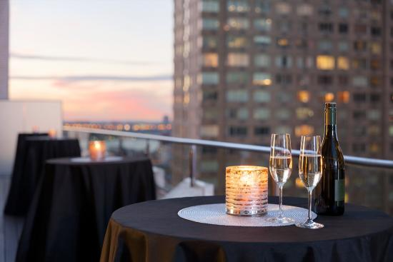 Hotel Edison Times Square: Hotel Edison - Signature Terrace Suite Cocktail Reception