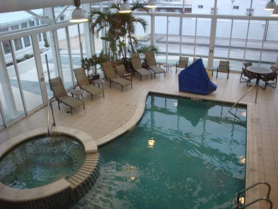 Courtyard Ocean City Oceanfront Indoor Pool
