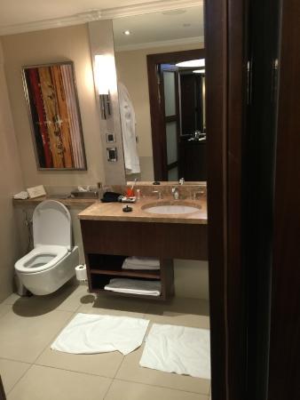 Kharkiv Palace Premier Hotel: Bad mit Dusche & Badewanne