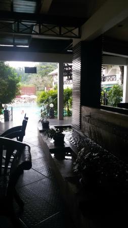 Anyavee Ban Ao Nang Resort : angolo relax