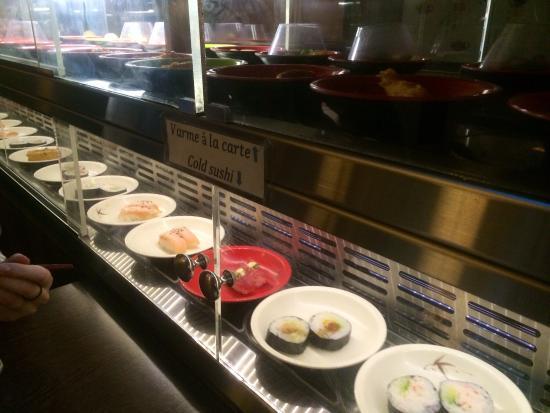 running sushi hellerup