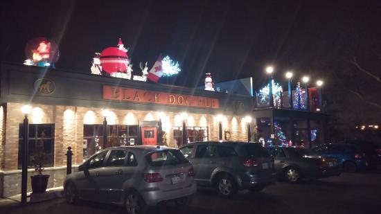 The Black Dog Pub: what a good looking pub