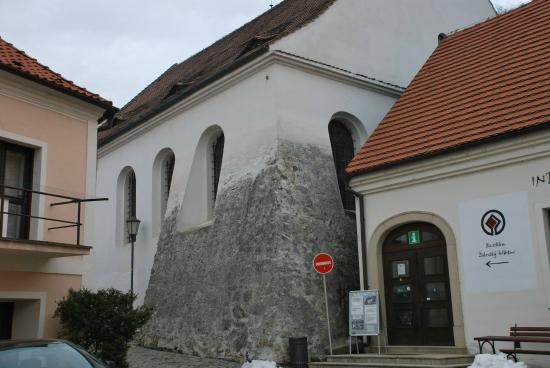 The Jewish Quarter and St Procopius' Basilica in Trebic: בית הכנסת
