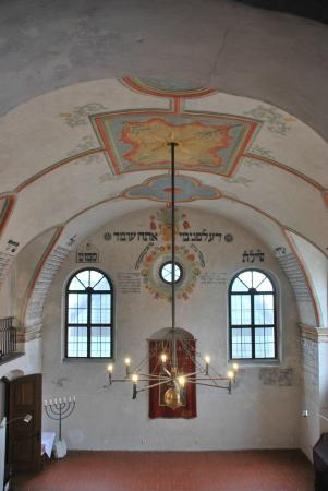 The Jewish Quarter and St Procopius' Basilica in Trebic: פנים בית הכנסת