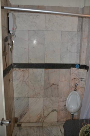 Ruean Thai Hotel: Urinal in shower?
