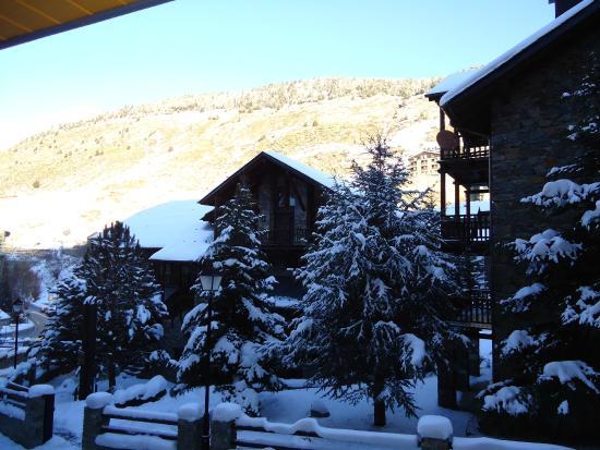Apartaments Superior-El Tarter: Vista desde el balcón