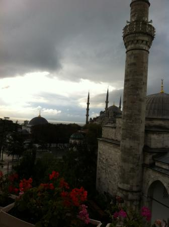 Sultanahmet Hotel : view from terrace