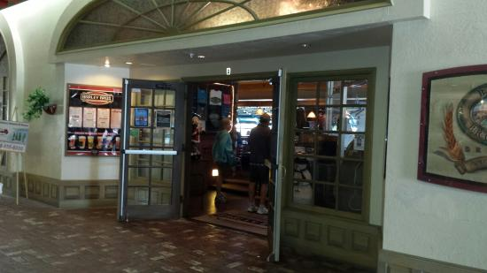 Barley Brothers Brewery: The entrance inside Shugrue's Mall.