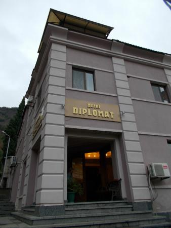 Hotel Diplomat: Hotel entrance