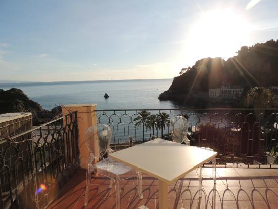 Hotel Baia Azzurra: Terrazza con vista!