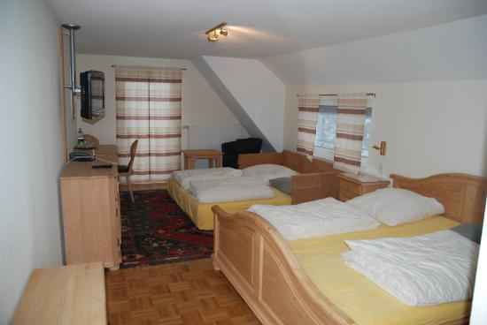 Berggasthof & Hotel Brend: la stanza