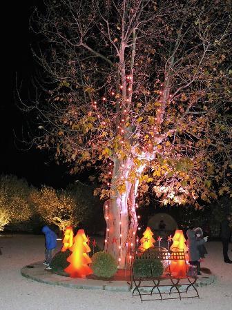 Chateau d'Estoublon: Déco de Noël