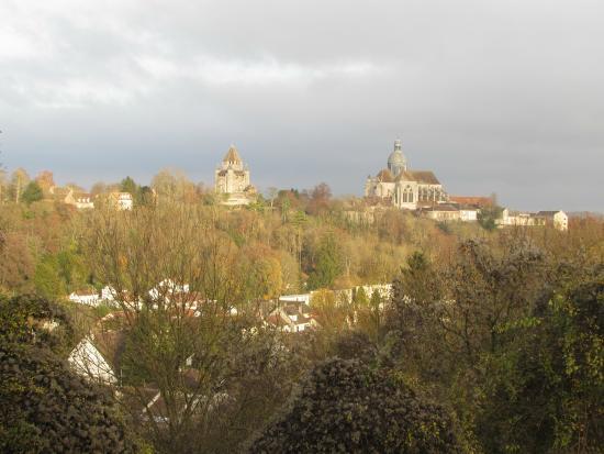 Ibis Provins : Vista da cidade (sem zoom) - do quarto 101