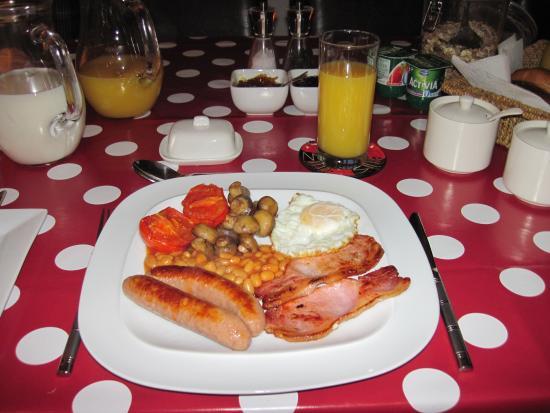 Blorenge View Bed & Breakfast: A First Class Full English Breakfast - Superb!