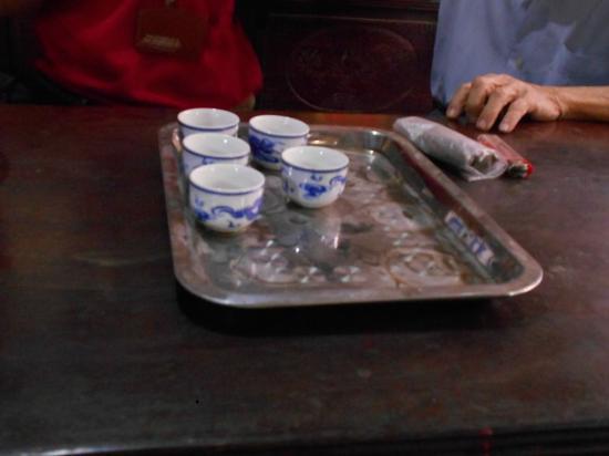 Asia Top Travel: Tea served at Community House Tho Ha Village, Vietnam