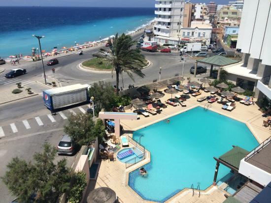Hotel Blue Sky City Beach Rhodos