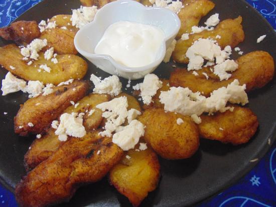 Casa Blanca Latinamerican Foods Restaurant: maduros huyy yumi sweet and tender ripe plantain