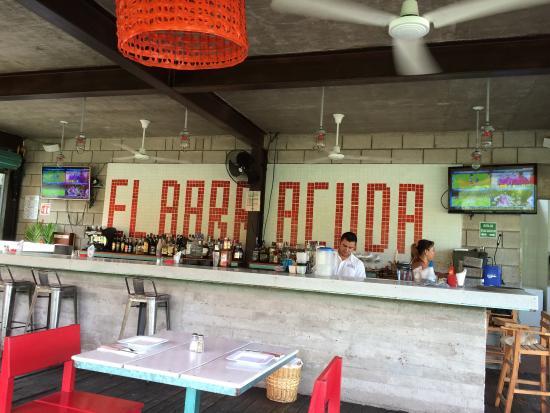 El Barracuda: Great lunch at El Barrucuda