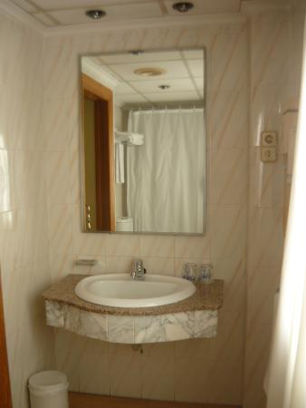 Hotel El Churra: el espejo