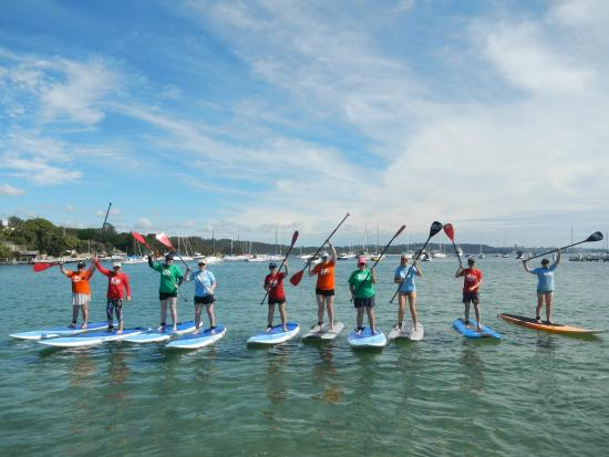 Sydney Scenic SUP: 1 hour Group Lesson
