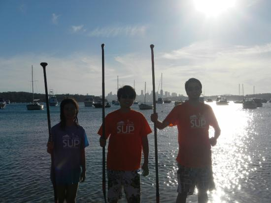 Sydney Scenic SUP: 2 hour Group Tour