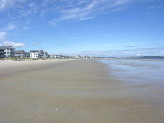 Alouette Beach Resort: 7 miles of beautiful beach!