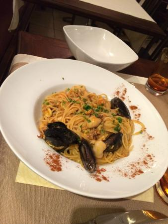 Osteria do Gobbi : My daughter's seafood pasta