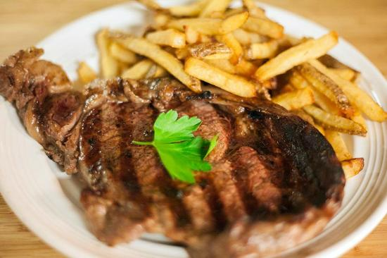 Wunderbar Bistro: Delmonico Steak