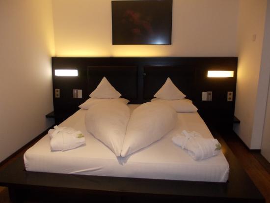 camera da letto - Bild von Boutique Hotel Am Park, Olang - TripAdvisor