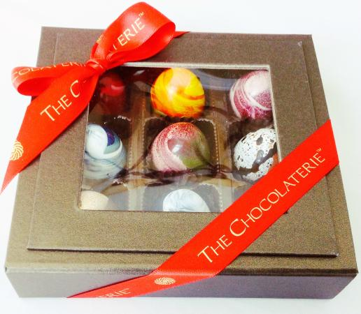 Beautiful Hand Painted Chocolate Truffles Picture Of The