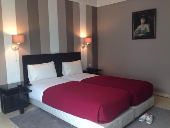 Hotel Yto: Chambre twin
